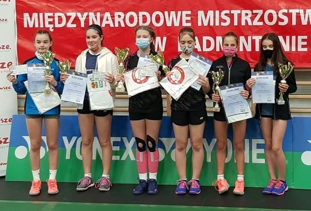 Trzy medale wywalczyła 13-letnia Aleksandra Wilczyńska z SKB Suwałki