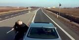Dzięki nagraniu agresywny kierowca trafi przed sąd [FILM]