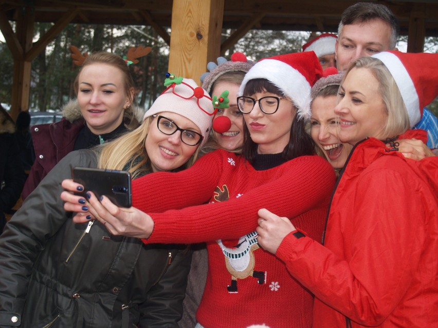 Wigilia na sportowo w Aleksandrowie, 21.12.2019