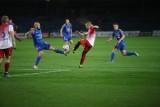 Polonia Nysa - Ruch Chorzów 1:2. Niebiescy grali w dziesiątkę, jednak wygrali 12. raz z rzędu. II liga coraz bliżej!