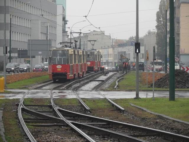 Prace remontowe na torowiskach trwają w Sosnowcu od kilku miesięcy