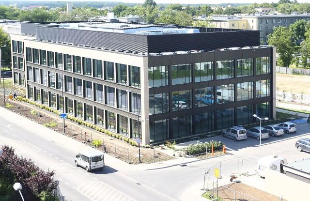 Radomska siedziba Polskiej Grupy Zbrojeniowej w budynku Office Park na osiedlu Słonecznym przy ulicy Malczewskiego.
