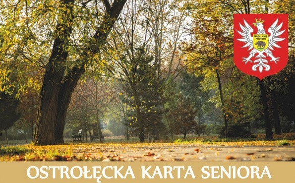 Ostrołęcka Karta Seniora. Od poniedziałku 13 stycznia można pobierać i składać wnioski o wydanie karty