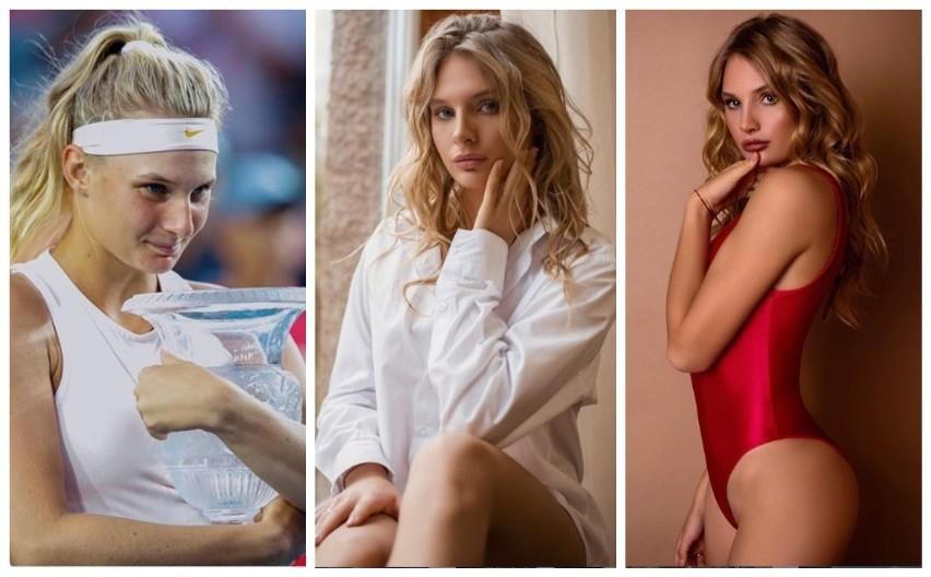 """Dajana Jastremska za długo sobie w Roland Garros nie pograła (odpadła w pierwszej rundzie), ale nie tylko zdaniem słynnej Chris Evert jest przyszłością kobiecego tenisa. A w zasadzie już teraźniejszością, bo 20-latka z Odessy ma już w dorobku trzy wygrane turnieje rangi WTA (plus jeden finał) i wszystko wskazuje na to, że już w niedalekiej przyszłości będzie się liczyć w rywalizacji o wielkoszlemowe tytuły. Ukrainka czaruje nie tylko na korcie, bo podczas tegorocznej przerwy w rozgrywkach spowodowanej pandemią koronawirusa nagrała i opublikowała na YouTube piosenkę, zatytułowaną """"Thousands of Me"""". """"Wielu wciąż żyje w swoich skorupach, nie są w pełni świadomi swoich ukrytych umiejętności i talentów"""" - tłumaczyła później swoim fanom powody, dla których zamieniła na chwilę rakietę na mikrofon. Z dobrym skutkiem notabene, bo zebrała pozytywne recenzje. Zyski przeznaczyła na tenisowy fundusz pomocowy.Nie da się również ukryć, że Jastremska to bardzo piękna kobieta. Sami zobaczcie...Zobacz kolejne zdjęcia. Przesuwaj zdjęcia w prawo - naciśnij strzałkę lub przycisk NASTĘPNE"""