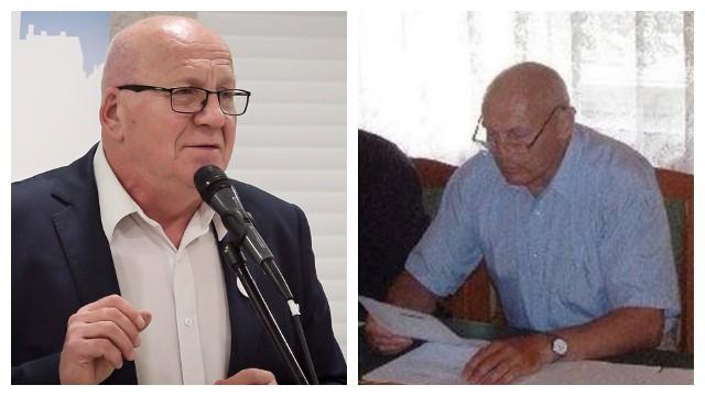 Były burmistrz Golubia-Dobrzynia Roman Tasarz (z lewej) ponownie udowodnił przed sądem, że Cezar Maćkiewicz jako urzędnik zatrudniony przez jego następcę Mariusza Piątkowskiego - pomawiał i naruszał dobra osobiste