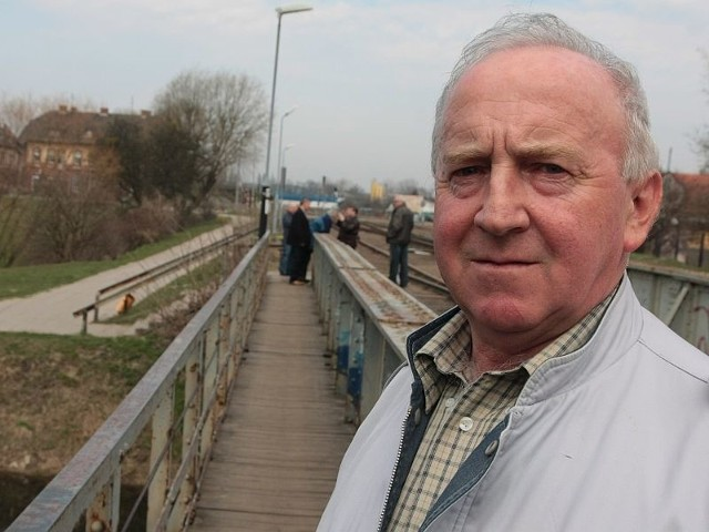 - Przejście na moście ułatwia życie wielu mieszkańcom - twierdzi Leszek Walczak z Międzyrzecza.