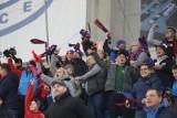 Kibice Piasta Gliwice fetowali wygraną z Legią Warszawa - zobacz ZDJĘCIA
