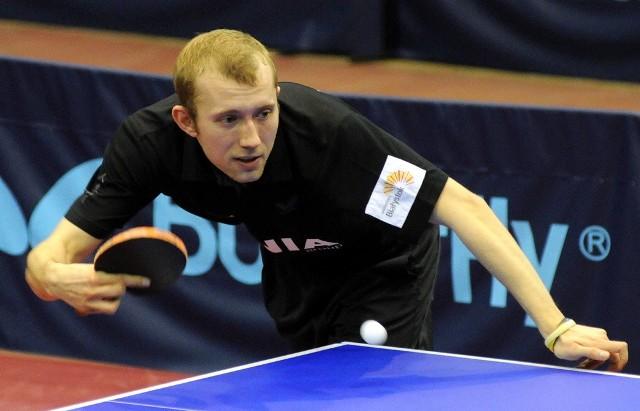 Bardzo dobrze spisał się na Węgrzech Mateusz Gołębiowski (Olimpia/Unia)