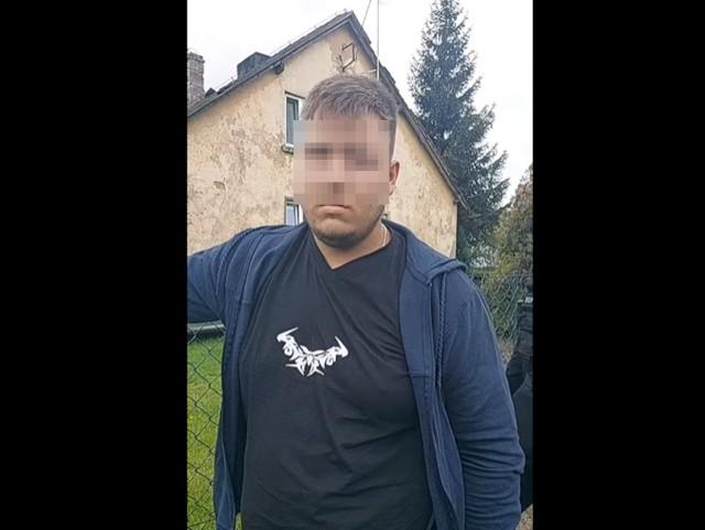 Zdjęcie z obywatelskiego zatrzymania Elusive Child Protection Unit Poland