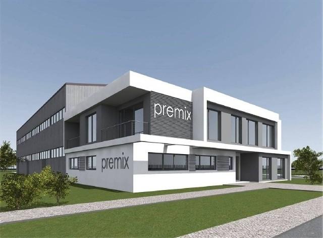 Wizualizacja nowego zakładu pracy w Połańcu