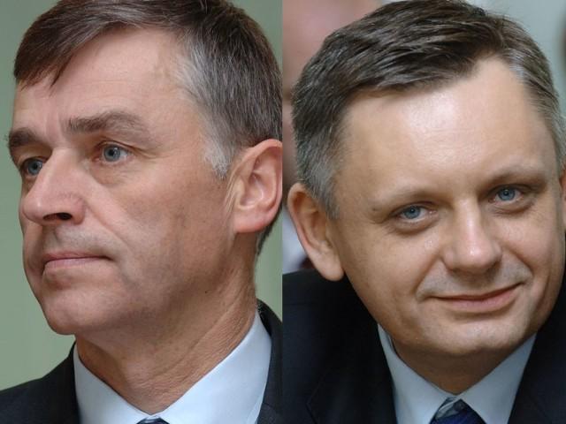 Północna Izba Gospodarcza zorganizowała w Koszalinie debatę o przedsiębiorczości z udziałem kandydatów na prezydenta miasta Piotrem Jedlińskim i Arturem Wezgrajem.