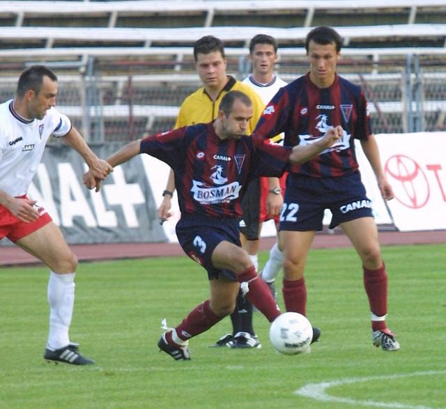 Michał Probierz zagrał w barwach Pogoni trzy oficjalne mecze. I starczy.