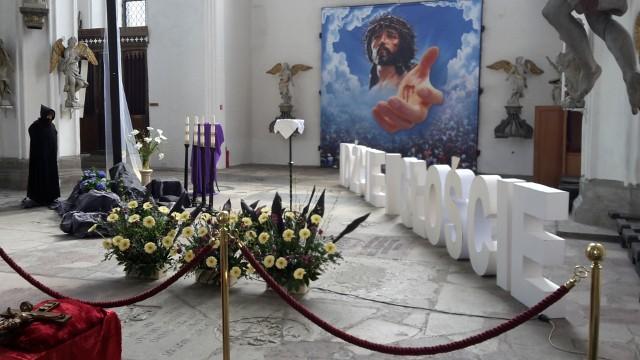 Grób pański w Bazylice św. Mikołaja w Gdańsku