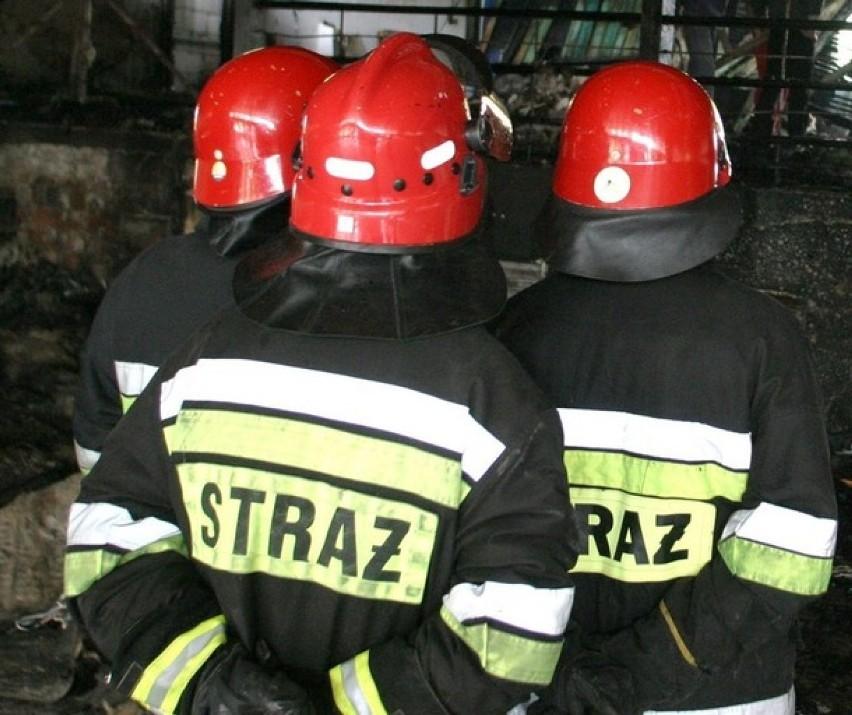 Pożar w Jastrzębiu