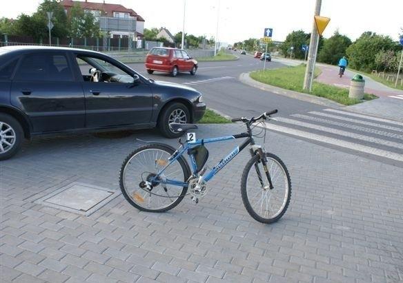 Potrącenie rowerzysty w Suwalkach