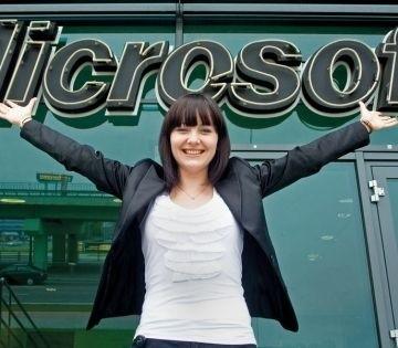 Monika Zarzycka z Microsoftu