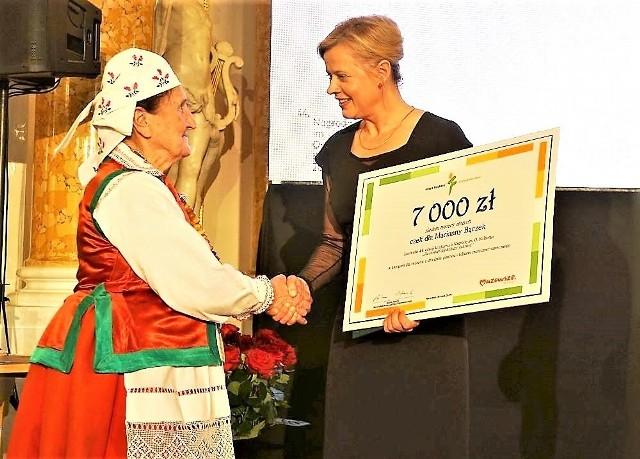 Marianna Bączek została laureatką nagrody im. Oskara Kolberga za zasługi dla kultury