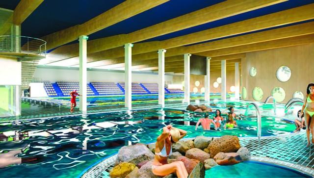 Obiekt ma się składać z trzech basenów: 50-metrowego, 25-metrowego i solankowego.  (fot. archiwum)