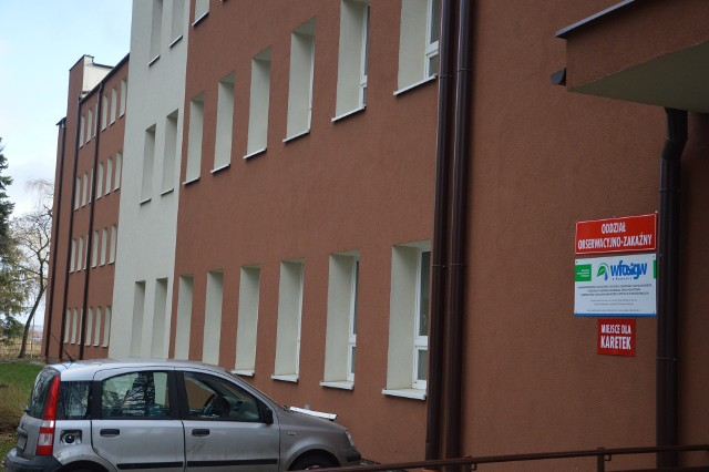 Oddział Zakaźny szpitala w Proszowicch