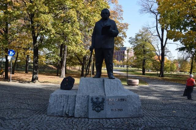 Pomnik gen. Jerzego Ziętka w Katowicach
