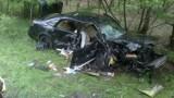 Wypadek w Porażynie pod Opalenicą: Trzy osoby zostały ranne