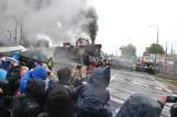 Wolsztyn: Parada Parowozów 2019 w strugach deszczu [ZDJĘCIA]