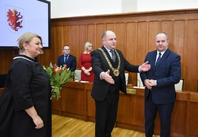 Elżbieta Piniewska została nową przewodniczącą Sejmiku Kujawsko-Pomorskiego.