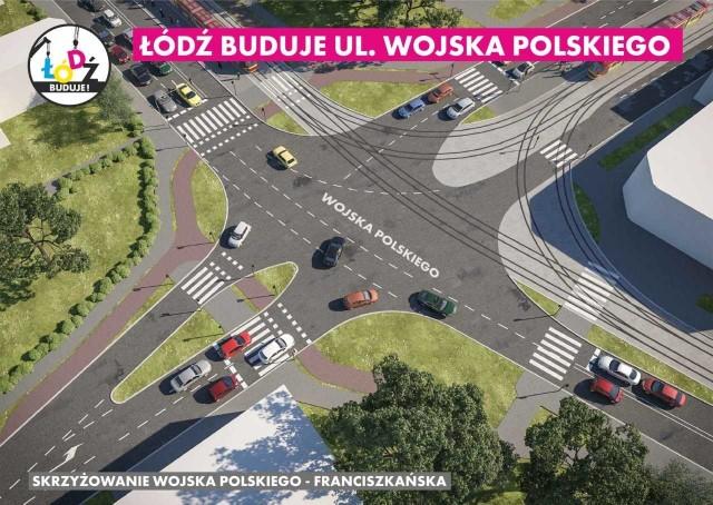 - To jeden z głównych ciągów komunikacyjnych miasta - mówi prezydent Łodzi Hanna Zdanowska. - Ulica była przez lata zgłaszana jako konieczna do  przebudowy. Tory są w fatalnym stanie, a jezdnia zdegradowana.