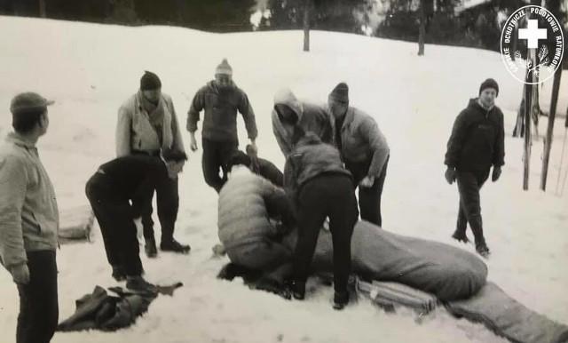 Po raz pierwszy do akcji ratunkowej w polskich górach śmigłowca użyto 28 lutego 1961 roku