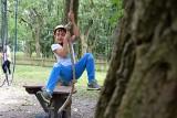 Inowrocław. W Parku Linowym w Solankach odbyły się zawody wspinaczkowe dla dzieci i młodzieży. Zorganizował je OSiR. Zdjęcia