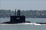 Indonezja: zaginął okręt podwodny. Załodze wystarczy tlenu do soboty. Trwa wyścig z czasem