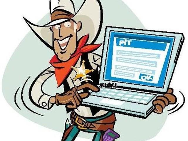 Zamiast wysyłać PIT pocztą lub nieść go do urzędu skarbowego, można zeznanie podatkowe za rok 2010 wysłać internetem.