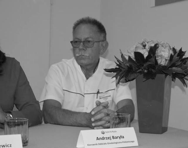 ndrzej Baryła był ordynatorem żarskiej ginekologii od 2018 roku