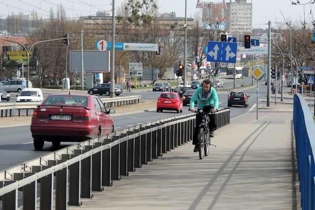 Jedna z koncepcji  zakłada przebudowę wiaduktu Kościuszki