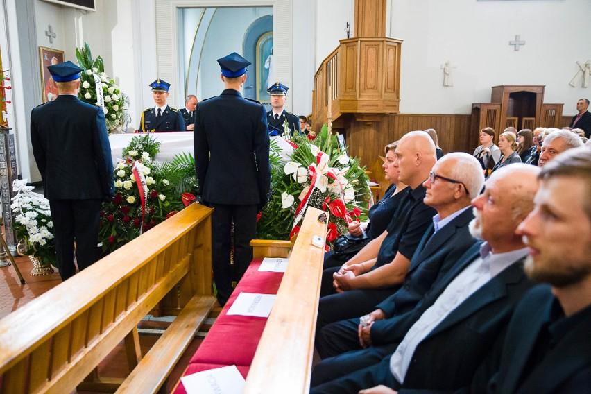 Uroczysty pogrzeb według ceremoniału pożarniczego