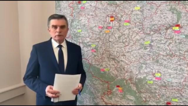 Ideę tworzenia izolatoriów wyjaśniał w poniedziałek wojewoda lubelski Lech Sprawka