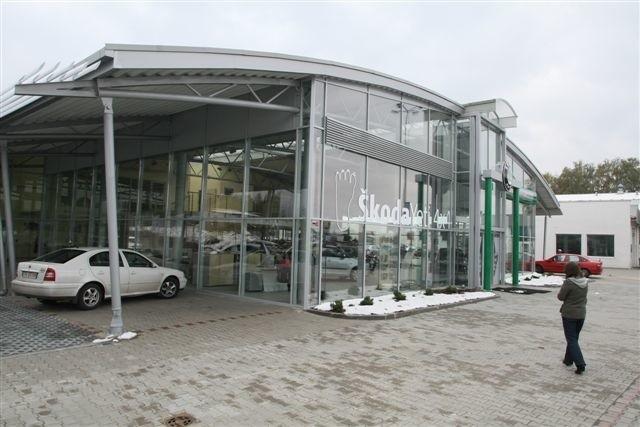 Tak wygląda nowy salon Skody w Kielcach. Fot. D. Łukasik
