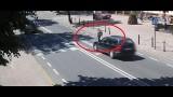 Potrącenie kobiety na przejściu dla pieszych w Łukowie. Jak doszło do wypadku? (WIDEO)