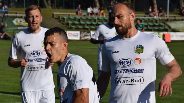 Ilan Rappoport w środę (9 czerwca) strzelił obie bramki dla Lechii Zielona Góra w wygranym meczu z Foto-Higieną Gać 2:1