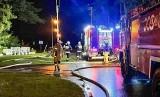 W Jedlni-Letnisku wybuchł pożar, spłonęła budka z lodami. Straty ocenia się na około 80 tysięcy złotych