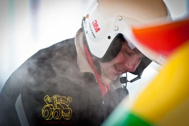 Robert Halicki już trzeci raz stanął na podium w Rajdowym Pucharze Polski.