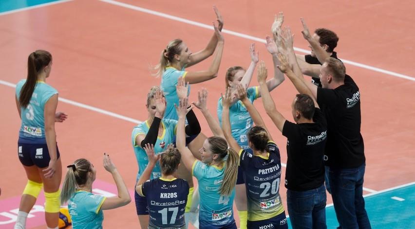 W Rzeszowie Developres pokonał Volley Wroclaw 3:1