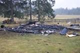Podhale: Zmarł 87-latek, który ucierpiał w pożarze bacówki