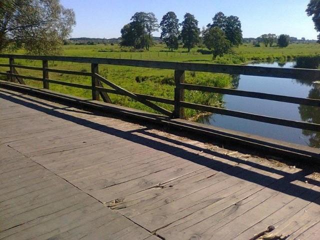 Takie zdjęcie mostu w Brzozowej przed remontem nadesłał nasz Czytelnik