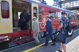 Pociąg do Łupkowa wyjechał ze stacji w Sanoku [ZDJĘCIA]