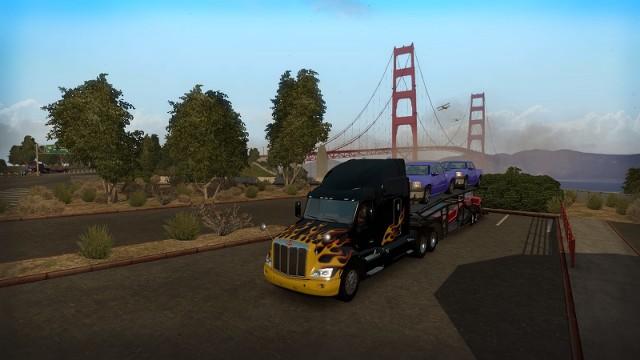 American Truck SimulatorAmerican Truck Simulator: Galeria z życia amerykańskiego kierowcy