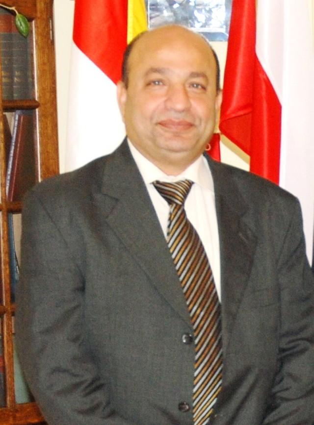 Sherif Fathy, radca handlowy ambasady Egiptu