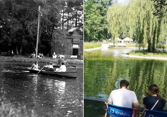 Park Krakowski sto lat temu i dziś