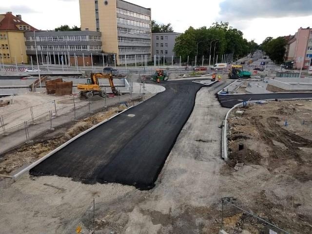Opole Wschodnie. Drogowcy planują wpuścić ruch na poziom zerowy przebudowanego skrzyżowania