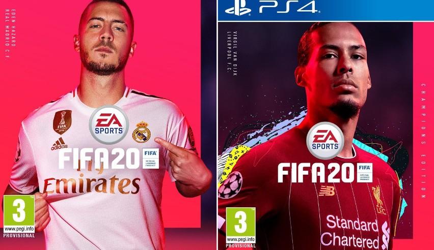 FIFA 20. Eden Hazard i Virgil van Dijk na okładce nowej odsłony gry